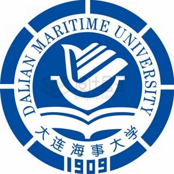 大连海事大学 logo校徽标志png图片素材