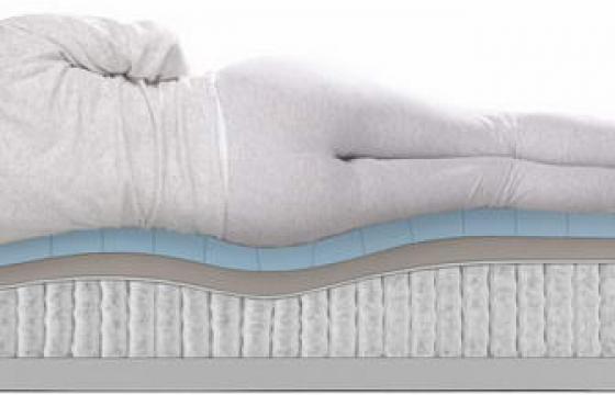 美女睡在床垫上压出线条展示png图片透明背景免抠素材