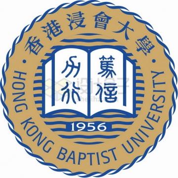 香港浸会大学 logo校徽标志png图片素材
