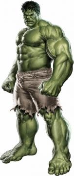 站立不动的绿巨人无敌浩克323782png免抠图片素材