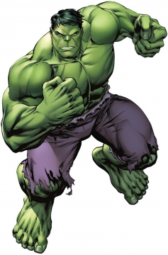 握紧拳头的绿巨人无敌浩克325478png免抠图片素材