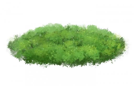 一小块青草地图片免抠素材