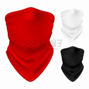 红色白色黑色巴拉克拉法帽png图片免抠矢量素材