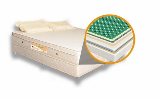 乳胶床垫结构放大展示效果png图片透明背景免抠素材