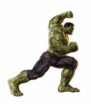肌肉发达的绿巨人无敌浩克343546png免抠图片素材