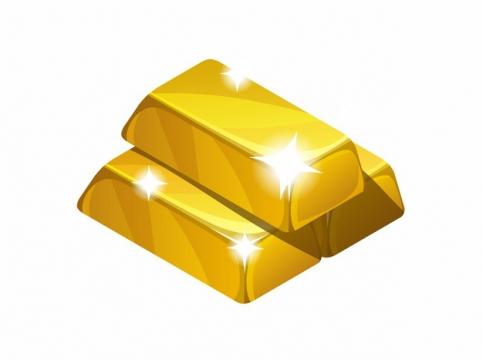 发光的金砖金块857901png图片AI矢量图素材