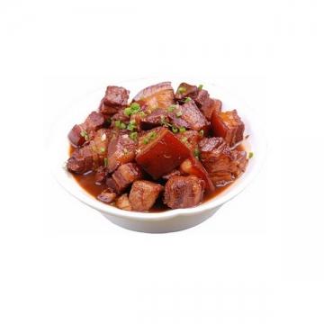 一碗美味的的红烧肉png图片免抠素材