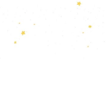 黄色五角星星星图案装饰图片免抠素材