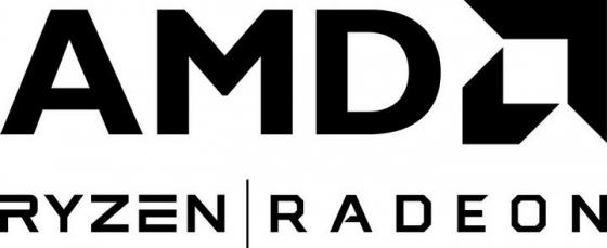 知名CPU处理器厂家黑色AMD品牌标志LOGO图片免抠素材