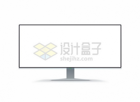 宽屏无框电视机显示器846319png图片素材