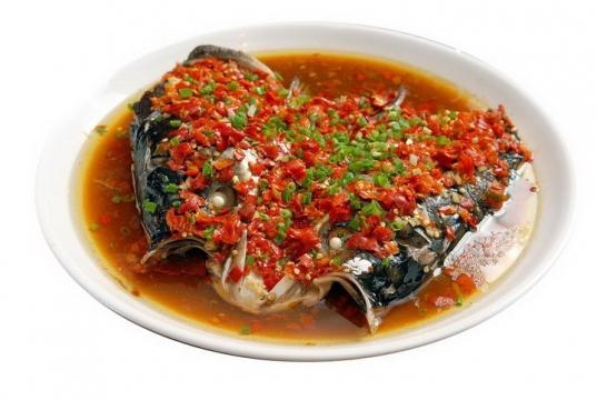 美味的剁椒鱼头png图片免抠素材