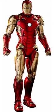 站立的钢铁侠Mark8马克6战甲漫威电影超级英雄图片免抠素材