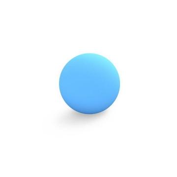 天蓝色立体圆球图片免抠素材