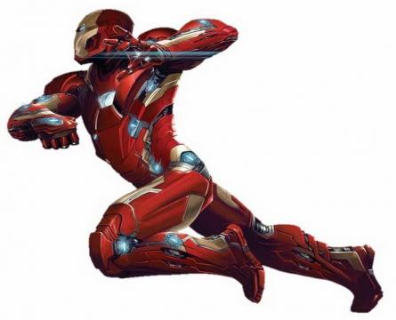 进击的钢铁侠侧影漫威电影超级英雄图片免抠素材