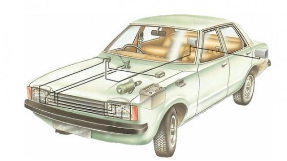 汽车前大灯结构示意图173508png图片免抠素材