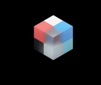 彩色立体方块立方体图片免抠素材