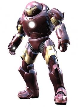 钢铁侠制作的Mark44反浩克装甲漫威电影超级英雄图片免抠素材
