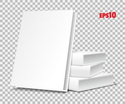 空白的书本书籍图片免抠矢量素材