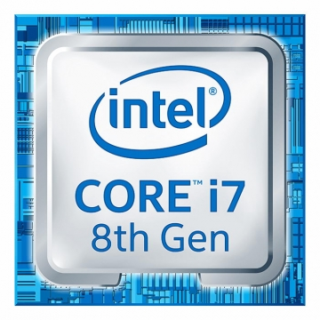 高清英特尔intel酷睿i7八核处理器电脑配件图片透明背景免抠素材