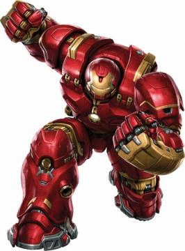 钢铁侠制作的Mark49反浩克装甲漫威电影超级英雄图片免抠素材
