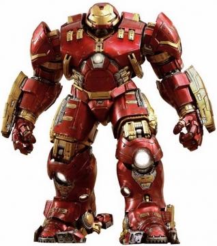 站立的钢铁侠Mark49马克49反浩克装甲漫威电影超级英雄图片免抠素材
