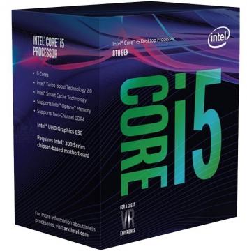 英特尔intel酷睿i5处理器盒装电脑配件图片透明背景免抠素材