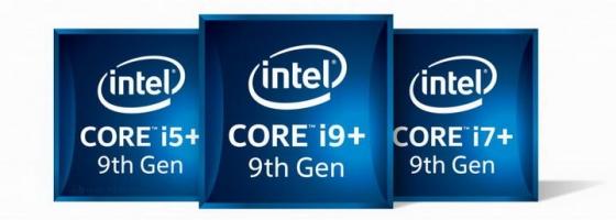 高清英特尔intel酷睿i5/i7/i9处理器电脑配件图片透明背景免抠素材