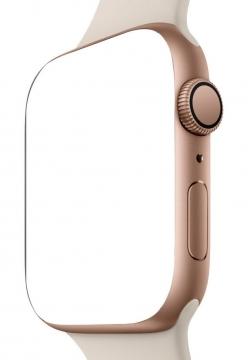 金色苹果智能手表Apple Watch显示样机756502psd样机图片模板素材