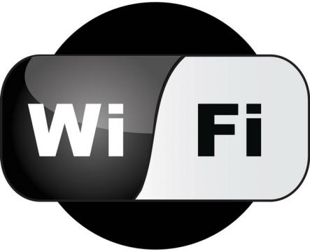 水晶按钮风格免费wifi标志png图片素材6324565