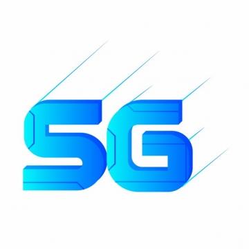 蓝色5G字体936856png图片素材