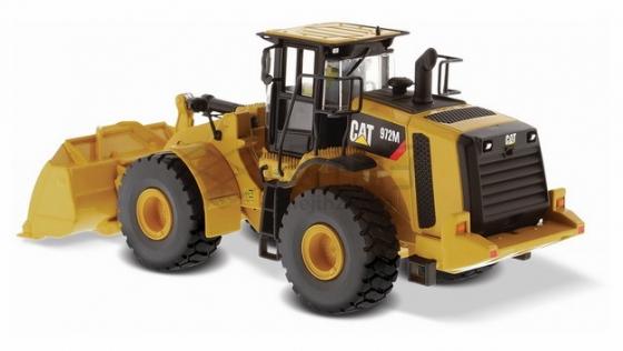 黄色铲车png图片素材