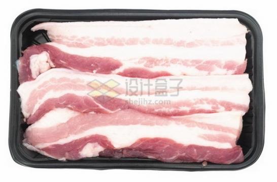 盒子里的五花肉猪肉生肉873221png免抠图片素材