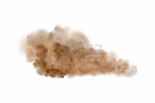 黄褐色的烟雾沙尘暴空气污染云团948379png图片素材