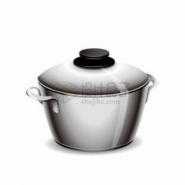 不锈钢汤锅厨房用品png图片素材