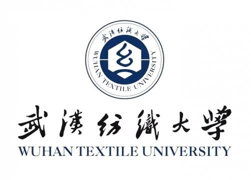 武汉纺织大学校徽图片png免抠素材