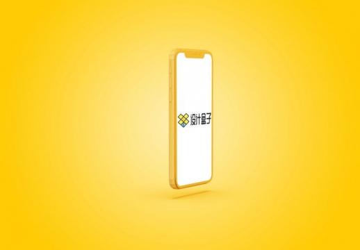 黄色苹果iPhone 11 Pro手机侧面屏幕显示样机PSD图片模板