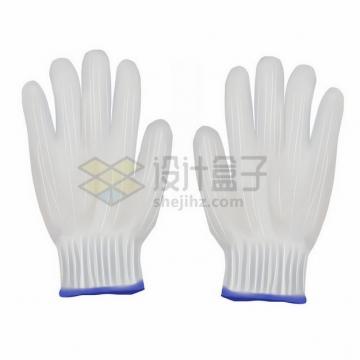 白色劳保手套白色棉手套工作手套743823png免抠图片素材
