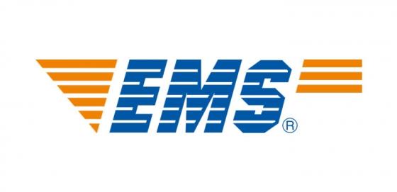 中国邮政速递物流EMS logo png图片免抠素材