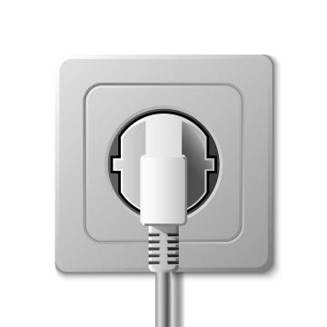 一款家用电器插座插头图片免抠素材